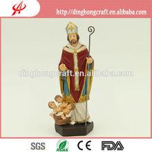 christian statue - st. nicolas