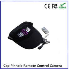 Black baseball cap camera support 8GB and audio invisible hidden camera YZ023