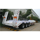 Low price low bed truck trailer for sale