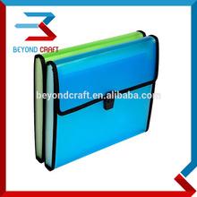 A4 A5 stationery folders 13 pockets expanding file folder zipper cloth lock