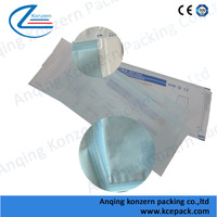 Paper&Poly Pouches for Use in Steam&Gas Sterilization