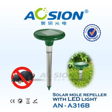 hot led light solar rat trap