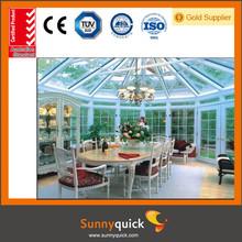 Energy Saving Balcony Glass Aluminum Sunrooms