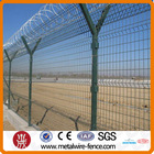 Highway safety nets meter fencing