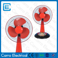 Latest model 12v solar energy table fan with remote motor winding machine