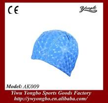 2014 hot sale PU swimming caps made in China