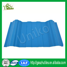 luxury light weight 3-layer upvc sheet roofing in corrosive chemical plants