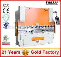 Metal Processed door frame press break stainless steel bending machine with cnc controller