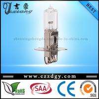 alibaba china E-mark Auto Halogen Bulb H1 H3 12v 70w
