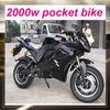 2000w cheap mini electric pocket bike
