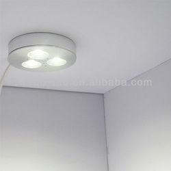 cUL 3Watt LED Under Cabinet Lighting Puck Light Kit 12 Volt