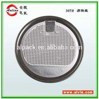 aluminium foil seal lid milk powder peelable cap seal liners