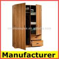 de madera armario de dormitorio moderno