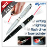 4 in 1 laser pointer pen drive with stylus ballpoint pen and led flashlight pen usb flash drive