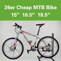 2104 nuevo estilo de aluminio de bicicletas de montaña de ciclismo