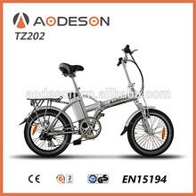 Aodeson city e bike TZ202 with250w Bafang Brand brushless motor,high speed