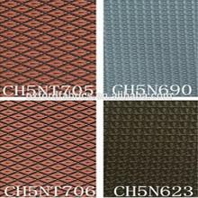 waterproof diamond 100% nylon fabric with pu coated bags/shoes