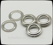 hot sale metal eyelet, nickel eyelet for garment, shoes , bags,