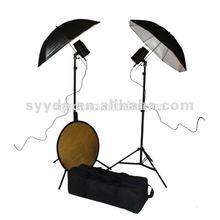 foto studio di apparecchi di illuminazione indipendente argento ombrello riflettore fotografia attrezzature kit