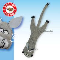 A50749 size:17-23inch plush donkey polar bear wolf bull skin toy dog toy