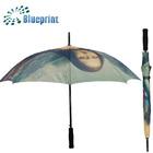 2014 new style Mona Lisa smile umbrella promotion item