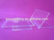 transparent plastic calendar case in calendar
