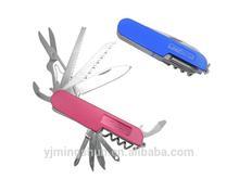 Multifunction useful handmade small pocket multi tool knife