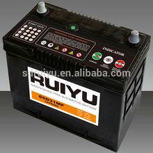 Hot Car Accessories Dubai Calcium Alloy battery JIS Auto Car Import Battery 12V 75D23R
