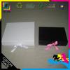 Fashion Black Paper Packing Boxes For Swimmer and Bikini, Ribbon Folding Gift Paper Box