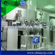 yuxiang a vuoto 100l cosmetici miscelazione macchina chimica industriale miscelatore