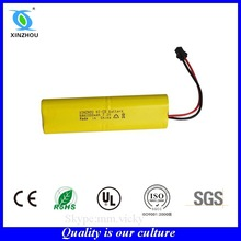 aa 800mah 9.6v nicd battery pack rechargeable