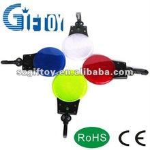 Flashing Reflector Light Key Chain Mini Keychain Safety Sport Backpack Novelty