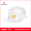 wholesale custom made top quality 100 cotton 5 panel snapback hats with metal label