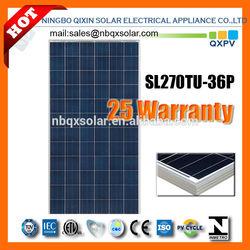 270W solar panel, solar module, QXPV SOLAR