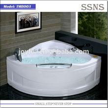 2015 new design acrylic massage sitting bathtub TMB003