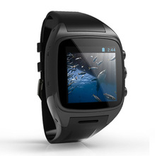 cheap touch screen watch mobile phone 5.0MP camera, GPS, 3G and WIFI
