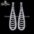 Moda fatti a mano in stile a buon mercato all'ingrosso di cristallo ingrosso argento gioielli thailandia