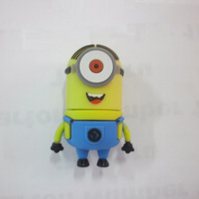 top quality cute cartoon character minion usb pen drive/usb flash drive 500gb/usb stick 32gb wholesale thumb drive