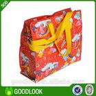 CMYK full color print woven shopping packaging bag