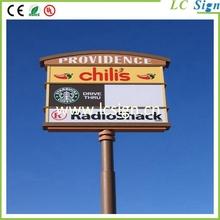 Pylon directory signs
