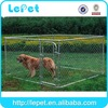 2014 new galvanize tube chain link dog run cage dog kennel pannels