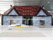 inflatable halloween haunted tent