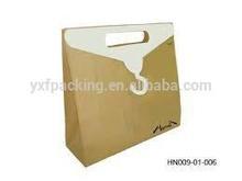 Silk printing kraft paper bag