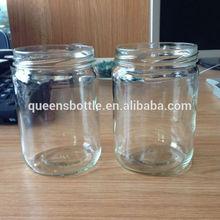500ml round jasmine coconut oil glass bottle