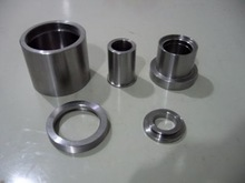 polished stainless steel cnc turned machining parts, spacer,sleeve and ring custom machining