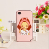 Smooth soft TPU mobile phone case for Apple iphone 5C