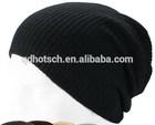 100% Acrylic High quality custom knitted hat beanie