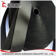 BLACK Velcro Cable Tie Rolls of velcro Hook & Loop