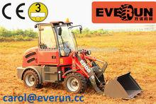 Everun Brand ER08 hydrostatik 0.8 Tonne mini farm Traktor Maschine Radlader/Hoflader mit CE/Euro 3