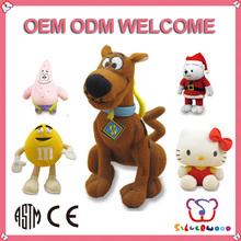 Familiar in oem odm factory supply new fashion alpaca stuffed animals
